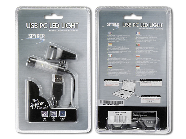 LAMPE USB POUR NOTEBOOK