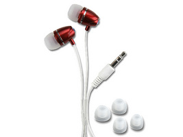 ECOUTEUR STEREO INTRA-AURICULAIRE AL151-RED