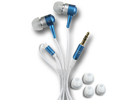 ECOUTEUR STEREO INTRA-AURICULAIRE AL15-BLU